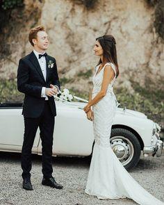Fit and Flare Embellished wedding dress #bride #bridaldress #wedding #weddingdress #weddinginspo #lace #lacedress #designer #love #ido #engaged #bridal #bridaldesigner #sparkle #embellished #pretty #bohemianbride #weddinginspo #bridetobe #bohobride #love #girl #weddingday