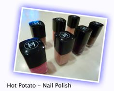 HOT POTATO NAIL POLISH: Played at a sleepovers, teen and pre-teen parties. Well good.    PREP   You need   - several bottles of nail polish ready   - some music to play   - your mates    PLAY   Get the music playing.   Sit in a circle and start passing a bottle.....