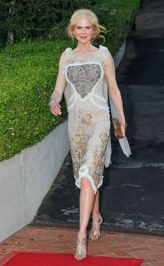 Nicole Kidman from Party Pics: Global  The Oscar winner arrives to a screening of her latest drama Lion at the Mill Valley Film Festival in Mill Valley, California.