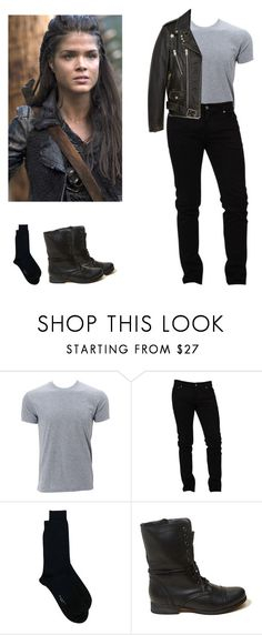 """""""Octavia Blake requested mens outfit - The 100"""" by shadyannon ❤ liked on Polyvore featuring Simplex Apparel, Dolce&Gabbana, Marni, Hollister Co. and Yves Saint Laurent"""