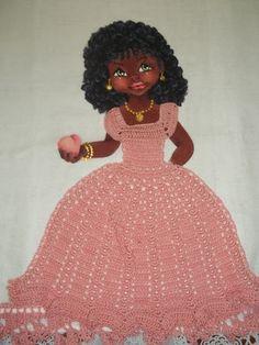 Pintura em Tecido Passo a Passo: Como pintar bonecas negras