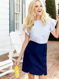 Reese Witherspoon Dazzles In Draper James Spring Collection - http://www.movienewsguide.com/reese-witherspoon-dazzles-draper-james-spring-collection/155383