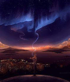 illuminate my heart, by megatruh.deviantart.com on @deviantART