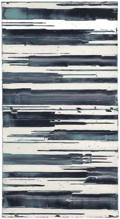 Mark Harrington - Untitled (Turquoise/black/white)