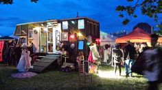 #shambala #festival shop #festival styling #solar lighting for #mobile shop #mobile vintage clothes shop #unusual camper van #unusual interiors horse box conversion www.crystalvintag... www.crystalvintag... twitter.com/... Gloria, the Crystal vintage dressing up box, as seen on George Clarke's Amazing Spaces series 2, ep 4 channel4