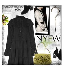"""Hot NYFW Runway Trend"" by meyli-meyli ❤ liked on Polyvore featuring Yves Saint Laurent, Fraiche, NYFW, yoins, yoinscollection and loveyoins"