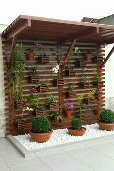70 beautiful vertical garden design ideas for the summer – # garden decorations … – Vertical gardens - All About House Plants Decor, Plant Decor, Backyard Patio, Backyard Landscaping, Patio Roof, Vertical Garden Design, Vertical Gardens, Vertical Bar, Balcony Garden