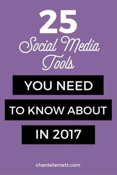 "Looking for the best social media tools for the platforms that your audience is most active on? This guide includes 25 of the best tools ""at a glance"" as well as an in-depth review of key features and what others are saying. :)"