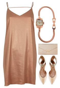 """""""Preadored 3.7"""" by emilypondng ❤ liked on Polyvore featuring River Island, Aquazzura, Accessorize and PreAdored"""