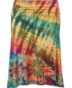 Spellbound Tie-Dye Skirt at Soul-Flower.com