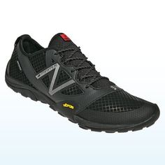 """New Balance Minimus MT20SB """"Winterrun"""" designed to maintain your barefoot style but keeping your feet warmer and drier. Neoprene and mesh upper."""