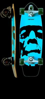 Monsta Carver Skateboard ~ the best thing around!