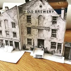 Figuring out the Old Brewery/Five Points Mission. If I keep it in scale w/ the figures, it'll be inches tall. City Hall Nyc, Five Points, Comic, Old And New, Old Photos, Brewery, New York City, Old Things, Laundry Hacks