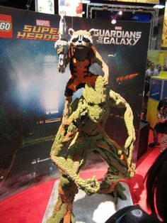 The Very Best Finds On The Floor At Comic-Con 2014 - Lego Rocket and Groot