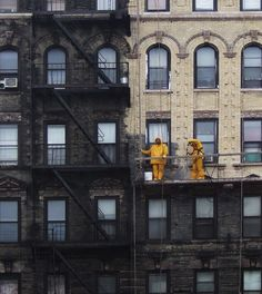 Suffolk Street. Lower East Side. Power washing a sooty building blackened from years of coal burning in the city (and sooty fuel oil).. Learn More at: http://pressurewashersconnect.com/