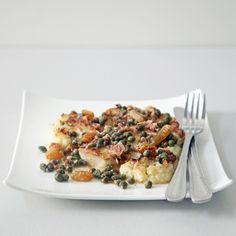 A Restaurant-Worthy Appetizer: Cauliflower Steak With Pancetta