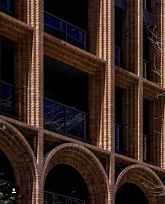 Brick Architecture, Architecture Details, Interior Architecture, Brick Design, Exterior Design, Brick Texture, Brick Facade, Brickwork, Aesthetic Design