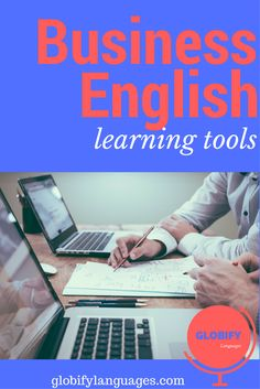 See my favorite business English learning tools and resources for learning English for business. English Vocabulary, English Grammar, English Language, English Writing, Learning English, Improve Your English, English Tips, Learning Tools, Improve Yourself