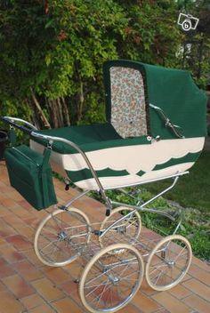 . Vintage Stroller, Vintage Pram, Retro Vintage, Pram Stroller, Baby Strollers, Prams And Pushchairs, Baby Buggy, Dolls Prams, Baby Prams