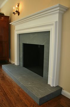 neolith fireplace | ... Gallery » piertrafpzoom-limestone-slab-honed-grey-italy-fireplace
