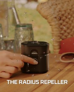Radius Zone Mosquito Repeller from Thermacell, Gen Black; No Spray Mosquito Repellent; Protect Outdoor Areas from Insects for Hours Per Charge; Home Gadgets, Gadgets And Gizmos, Backyard Patio, Backyard Landscaping, Hygge, Bistro Lights, Mosquitos, Cool Inventions, Useful Life Hacks