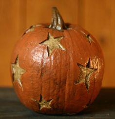 ~ Pumpkin w/ Stars ~