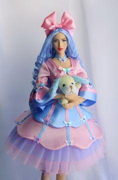 Авторские куклы Ларисы Исаевой.