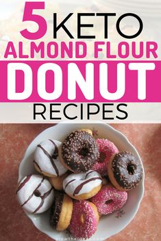 Is your keto diet getting in the way of your love for donuts? Well, fret not. Here are some almond flour keto recipes that you can try. #keto #ketogenic #ketodiet #ketorecipes #ketogenicdiet #growtheideas
