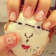 atelier+LIM 大阪ネイルサロン OSAKA nail salon cute face design