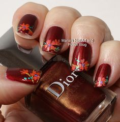 Apparat flowers  | See more at http://www.nailsss.com/colorful-nail-designs/2/