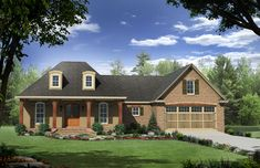 HPG-1879-1-The Wellington Park is a 3317 sq. ft./ 3 bedroom/ 2 bath house plan that you can purchase for $750.00 and view online at http://www.houseplangallery.com/HPG-1879-1.