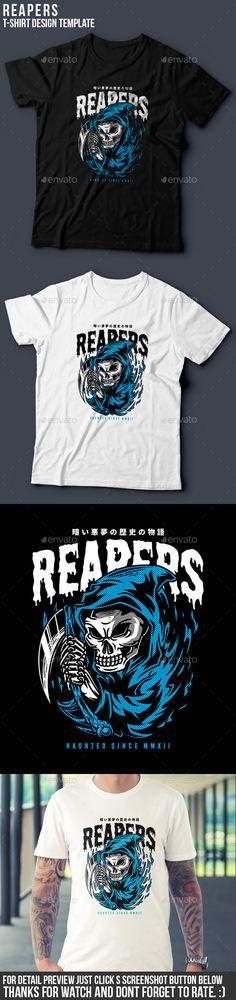 Reapers T-Shirt Design