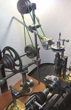 MOWRER WW LATHE TOOLS: Lathe countershaft adjustable PTO