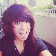 christina grimmie, pretty hair!
