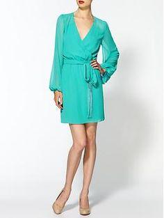 Erin Fetherston Cape Sleeve Wrap Dress | Piperlime