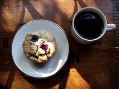 cherry-lime biscuit muffins – In Jennie's Kitchen