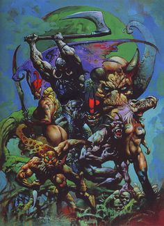 by Simon Bisley