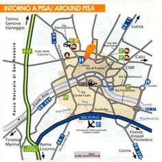 Livorno Tourist Map Livorno Italy mappery Travel Places that