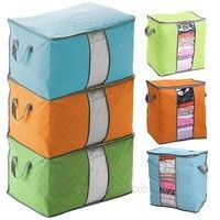 Mama | New Foldable Compact Clothing Quilt Storage Bag Case Blanket Closet Sweater Organizer Box Useful