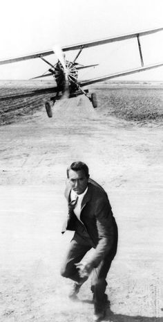 Cary Grant in ;North by Northwest 1959.