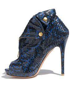 Snakeskin Shoes and Handbags Trend - Snake Skin Accessories Trend 2011 - Harper's BAZAAR