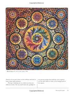 Amazon.com: Mariner's Compass Quilts-Setting a New C: New Process, New Patterns, New Projects (9781571203007): Judy Mathieson: Books