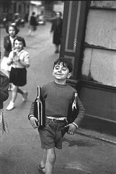 """Henri Cartier-Bresson.  The father of photojournalism.  he coined the term the """"decisive moment"""""""