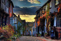 Autumn in Mermaid Street,
