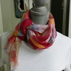 Silk scarf Never worn Accessories Scarves & Wraps
