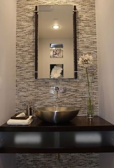 Primp Your Powder Room on a Shoestring  Small budgets and small powder rooms are made for each other, with inexpensive mirrors, wall coverings and accessories that flatter