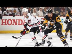 Chicago Blackhawks at Pittsburgh Penguins. Was a good, fun game full of All-Stars. Wish Malkin & Letang could've played.