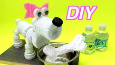 DIY Toys for Kids: How to Make a Family Friendly Dog out of Plastic Bottles