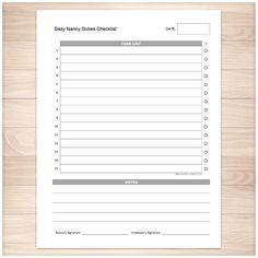 Ultimate Guide Nanny Portfolio  Nanny Binder Childcare And Binder