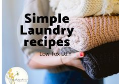 Simple laundry - Healthy Home Series
